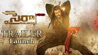 Sye Raa Narasimha Reddy Trailer Launch Event Highlights | Mega Star Chiranjeevi, Ram Charan