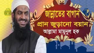 জান্নাতের বাগান । বাংলা ওয়াজ আল্লামা মামুনুল হক | Bangla Waz Mahfil Allama Mamunul Hoque-Islamic BD