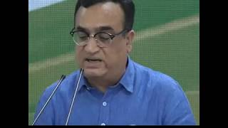 RBI report exposes mismanagement of Public Funds by Govt.: Press Briefing By Ajay Maken at AICC HQ