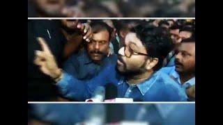 Babul Supriyo 'heckled' at Jadavpur University, Governor rushes to JU