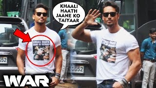Tiger Shroff Trolls Hrithik Roshan Again As T Shirt WAR Heats Up During War Promotions