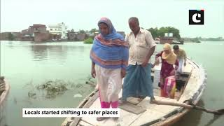 Water level of River Ganga further rises in Varanasi