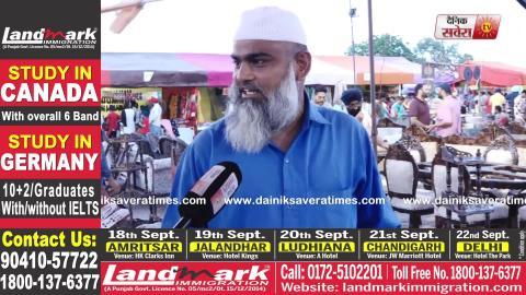 Exclusive: Baba Farid के मेले में हाथ के कारीगरों ने लोगों को किया आकर्षित
