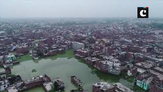 Prayagrajs low-lying areas partially submerged as Ganga, Yamuna continue to swell