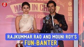 Made In China Trailer Launch: Rajkummar Rao And Mouni Roy's Fun-Banter