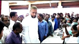 Asaduddin Owaisi Inaugurated 4 days Free Health Camp's | Special For Dengue Disease |