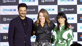 Anil Kapoor At Eros Now And Microsoft Press Conference For Next Level Innovation