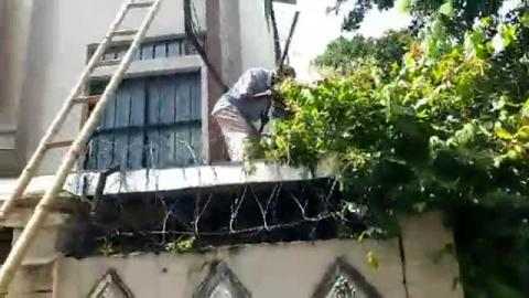 illegal construction building in number 27 ward of Siliguri
