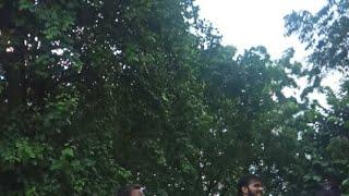 Live Devigeet Shoot - Arvind Akela Kallu & Dimpal Singh