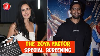 Katrina Kaif and Vicky Kaushal at the special screening of 'The Zoya Factor'