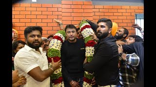 "Challenging Star Darshan Inaugurated ""FIT N FAB"" Gym Bangalore 