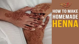 Watch Benefits and Tips To Make Homemade Henna