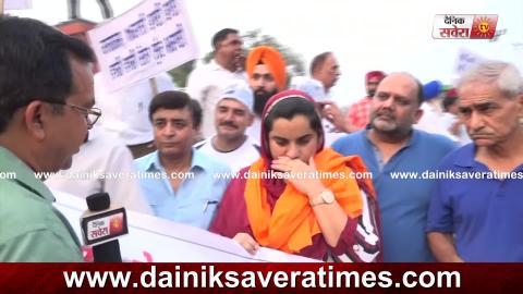 Exclusive Interview: Amritsar में बिजली की दरों को लेकर MLA Baljinder Kaur ने लगाया धरना