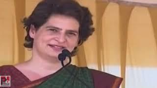 Congress General Secretary Priyanka Gandhi Vadra addresses a public meeting in Mananthavady, Wayanad