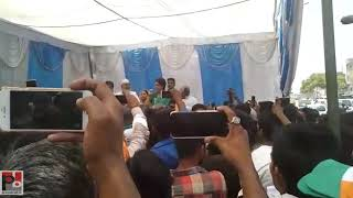 Congress General Secretary Priyanka Gandhi addresses public meeting in Amethi