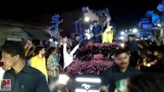 Congress General secretary Priyanka Gandhi's road show at Lalganj , Raebareli part 09