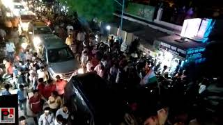 Congress General secretary Priyanka Gandhi's road show at Lalganj , Raebareli part 03
