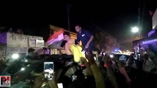 Congress General secretary Priyanka Gandhi's road show at Lalganj , Raebareli part 07