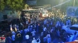 Congress General secretary Priyanka Gandhi's road show at Raebareli part 01