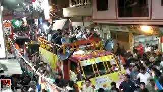 सुल्तानपुर ने किया प्रियंका गाँधी का भव्य स्वागत