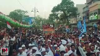 Priyanka Gandhi Vadra Roadshow in Varanasi