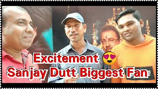 Sanjay Dutt Biggest Fan To Watch Prashthanam 1st Day Second Show