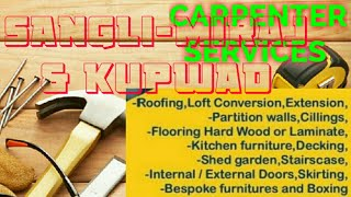 SANGALI     Carpenter Services  ~ Carpenter at your home ~ Furniture Work  ~near me ~work ~Carpenter