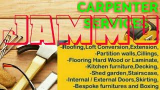 JAMMU    Carpenter Services ~ Carpenter at your home ~ Furniture Work ~near me ~work ~Carpentery 1