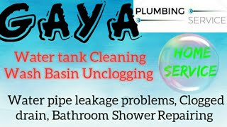 GAYA    Plumbing Services ~Plumber at your home~   Bathroom Shower Repairing ~near me ~in Building 1