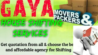 GAYA    Packers & Movers ~House Shifting Services ~ Safe and Secure Service ~near me 1280x720 3 78M