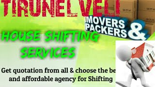 TIRUNELVELI     Packers & Movers ~House Shifting Services ~ Safe and Secure Service  ~near me 1280x7