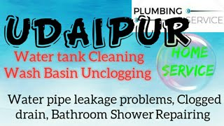 UDAIPUR     Plumbing Services ~Plumber at your home~   Bathroom Shower Repairing ~near me ~in Buildi