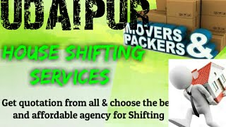 UDAIPUR     Packers & Movers ~House Shifting Services ~ Safe and Secure Service  ~near me 1280x720 3