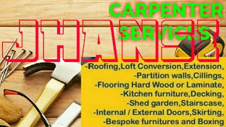 JHANSI   Carpenter Services  ~ Carpenter at your home ~ Furniture Work  ~near me ~work ~Carpentery 1