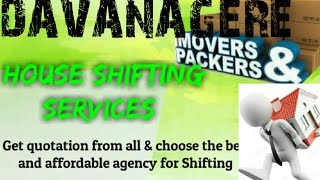 DAVANAGERE   Packers & Movers ~House Shifting Services ~ Safe and Secure Service  ~near me 1280x720
