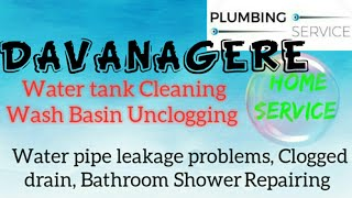 DAVANGERE    Plumbing Services ~Plumber at your home~   Bathroom Shower Repairing ~near me ~in Build