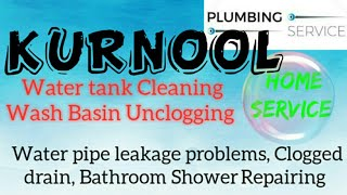 KURNOOL    Plumbing Services ~Plumber at your home~   Bathroom Shower Repairing ~near me ~in Buildin