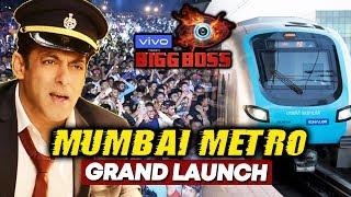 Salman Khan To Launch BIGG BOSS 13 On Mumbai Metro Station?