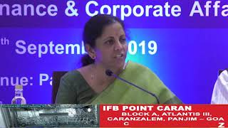 Keen On Restoring Mining In Goa - Sitharaman in Press Conference
