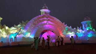 Durga Puja preparation in Rasulgarh and Nayapalli Bhubaneswar