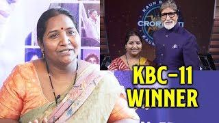 Interview With Kaun Banega Crorepati 11  WINNER | Babita Tade