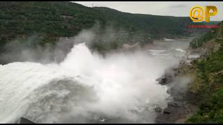 Srisailam Dam To Nagarjuna Sagar Dam | Beautiful Water Flow | 2019 Floods | News Online