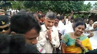 Chandrababu's consolation trip in flood-hit areas | News online entertainment