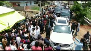Pawan Kalyan Car Drone Camera Shooting | Amravati Area Journey | News Online Entertainment