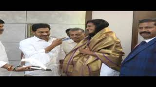 Badminton World Champion PV Sindhu Meet Cm #Ysjagan | News online entertainment