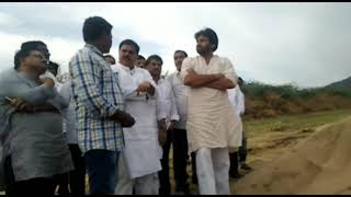 Pawan Kalyan's Arriving Here Checked Sand | Ap New Sand Policy | News online entertainment