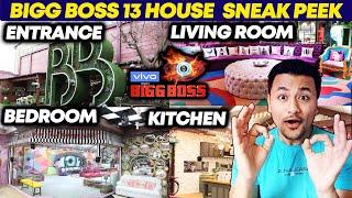 Bigg Boss 13 House SNEAK PEAK | Inside House | Entrance, Living Room, Bedroom, Kitchen