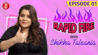 Shikha Talsania Makes The Tough Choice Between Shah Rukh Khan, Salman Khan & Aamir Khan | Rapid Fire