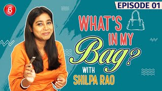 Shilpa Rao's Unheard Of Bag Stories Are Sure To Fascinate You | What's In My Bag?