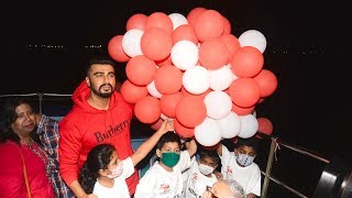 Arjun Kapoor Celebrates National Cancer Rose Day With Cancer Affected Children
